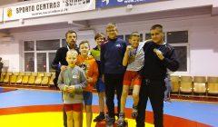 Tarptautinis Povilo Grigo vardo imtynių turnyras kupiškėnus papuošė medaliais