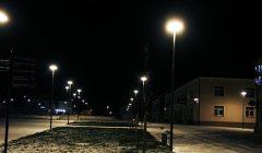 Trumpai: Kupiškio Lauryno Stuokos-Gucevičiaus aikštėje įžiebti žibintai