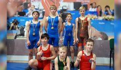 Graikų-romėnų imtynių vaikų čempionate kupiškėnams – septyni medaliai