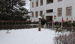 Rokiškėnų pėstininkų kuopa persikėlė į kolegijai priklausiusias patalpas