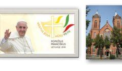 Pasauliečių organizuota konferencija Kupiškyje popiežiaus vizito Lietuvoje tema