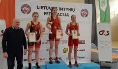 Kupiškiui – du imtynininkų bronzos medaliai