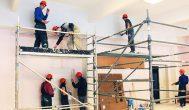 Trumpai: Kupiškio technologijos ir verslo mokykla baigė salės remontą