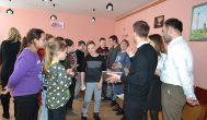 Alizavos mokiniams pamokas vedė bendrovės TELIA jauni specialistai