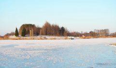 Kupiškėnams duotas leidimas aptarnaujančiomis transporto priemonėmis važiuoti ledu