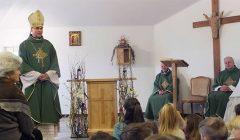 Trumpai: pašventinta Kupiškio parapijos namų koplytėlė