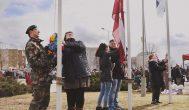 Trumpai: Kupiškyje Baltijos šalių vėliavas kėlė jaunos šeimos
