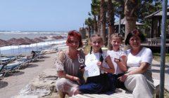 Kupiškėnių Ugnės Begonytės ir Ainės Jakubkaitės fortepijoninis duetas Turkijoje įvertintas pirmos vietos laureato diplomu