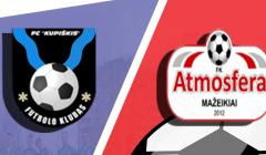 Ateik palaikyti Kupiškio futbolo komandos!
