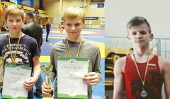 Klaipėdoje Kupiškio imtynininkai iškovojo tris medalius