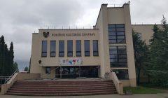 Trumpai: Rokiškio kultūros centras pasipuošė užrašu