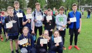 Troškūnų Kazio Inčiūros gimnazijos futbolo rungtynėse subatėnai pelnė trečią vietą