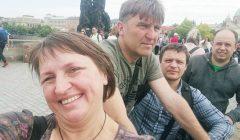 Trumpai: Kupiškio teatralai vieši Prahoje