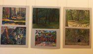 Jaunų talentų darbų paroda Kavarsko bibliotekoje
