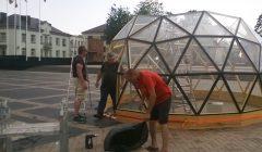 Trumpai: stiklinis kupolas aikštėje – Kupiškio bibliotekininkų projektas