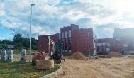 Kas sustabdė Kupiškio kultūros centro prieigų rekonstrukcijos darbus?