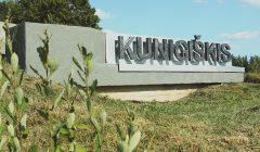 Trumpai: nukaldintas Kunigiškio kaimo pavadinimas