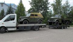 Į naują Siauruko muziejaus ekspoziciją atvežtos pirmosios mašinos