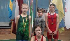 Imtynininkai Domas Ulkė ir Medas Barzdenys Kupiškį nudžiugino sidabro medaliais