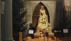 Neišsipildys rokiškėnų svajonė – smėlio prakartėlę iš bažnyčios perkelti į muziejų