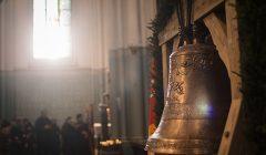 Nauji Rokiškio bažnyčios varpai pakrikštyti Šv. Mato ir Šv. Pranciškaus vardais