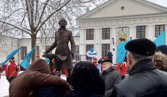 Antano Tyzenhauzo šaknys –Skapiškyje, paminklas – Baltarusijos Pastoviuose