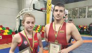 Trumpai: kupiškėnai imtynininkai Anelė Kavaliauskaitė ir Neilas Abdulajev pelnė Lietuvos imtynių čempionato bronzą