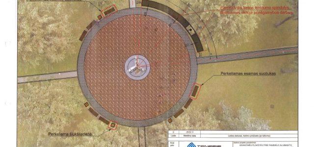 Svėdasų Bronės Buivydaitės aikštėje planuojama įamžinti Algimanto apygardos partizanų veiklą
